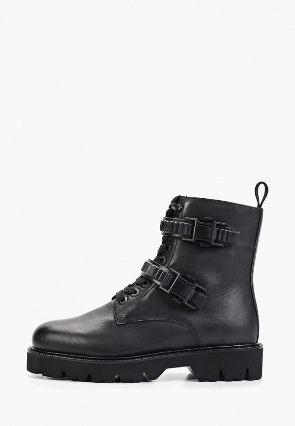 женские ботинки paolo conte, черные