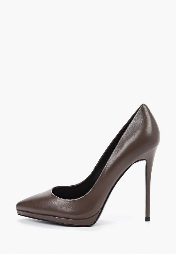 женские туфли paolo conte, коричневые