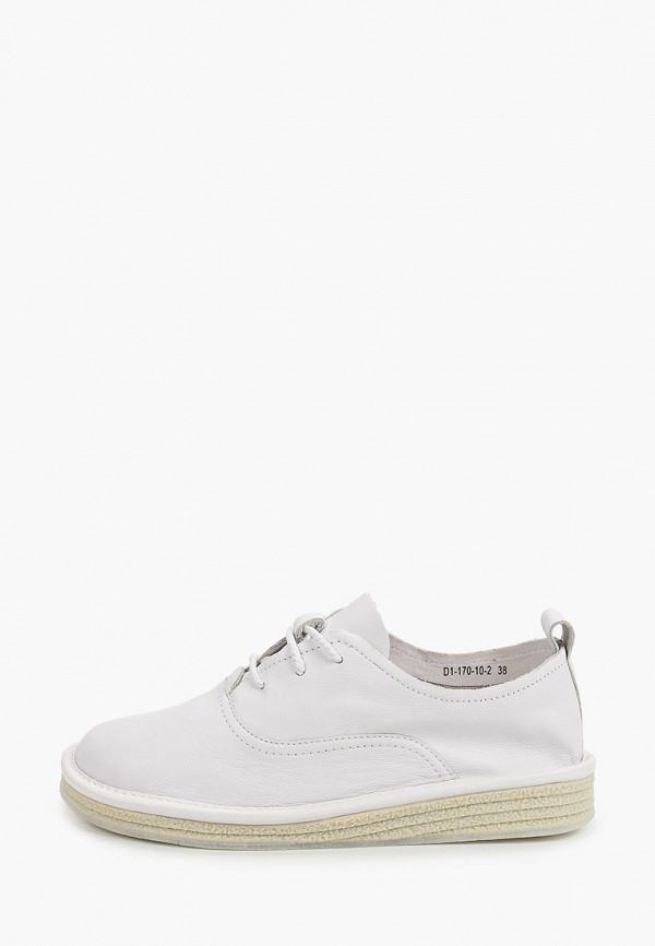 женские низкие ботинки paolo conte, белые