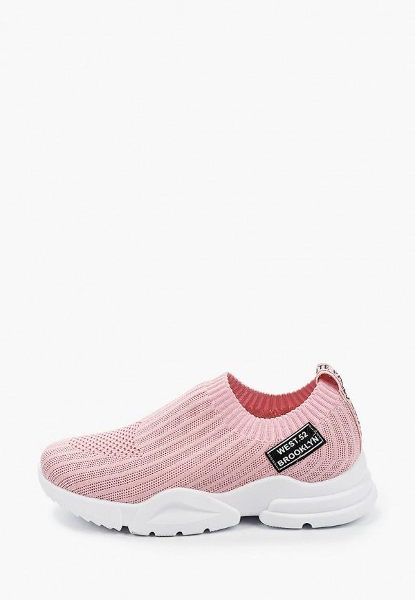 женские кроссовки paolo conte, розовые