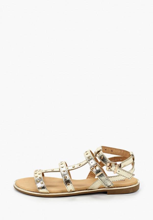 женские сандалии paolo conte, золотые