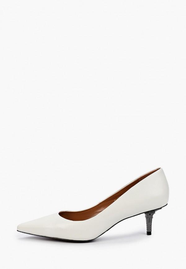 женские туфли-лодочки paolo conte, белые