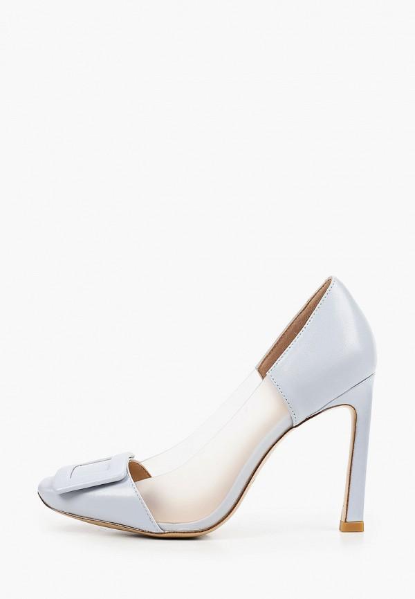 женские туфли-лодочки paolo conte, голубые