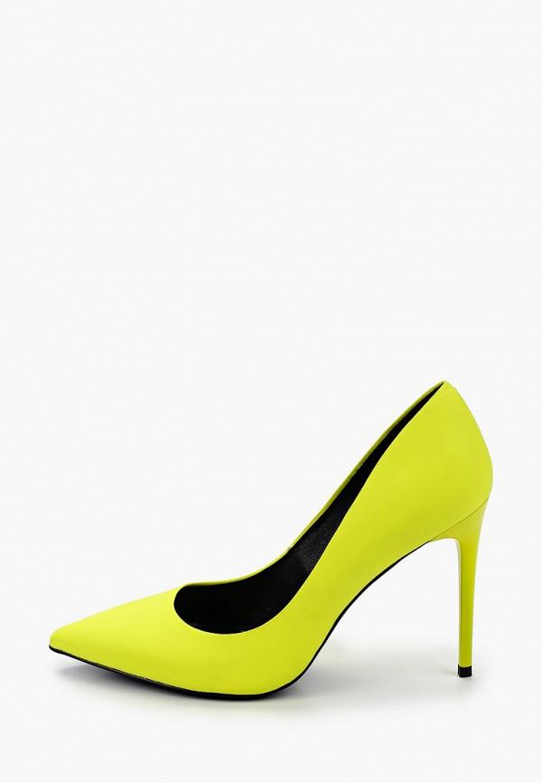 женские туфли-лодочки paolo conte, желтые