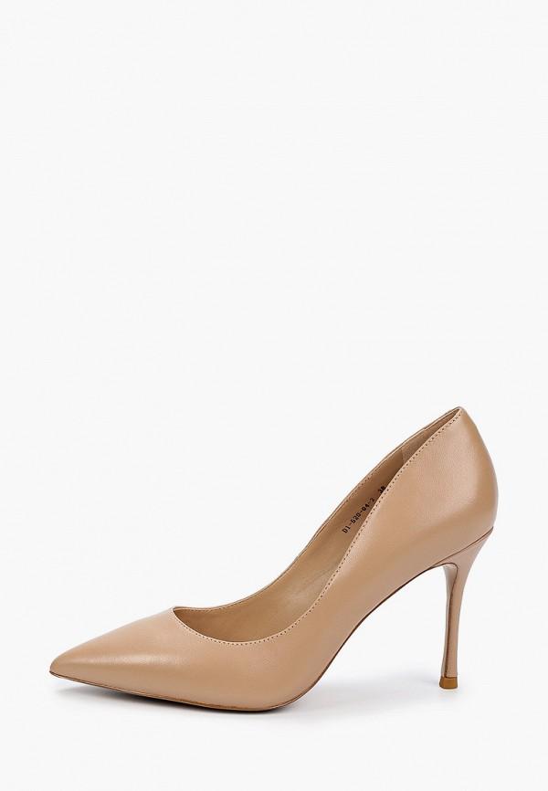 женские туфли-лодочки paolo conte, бежевые