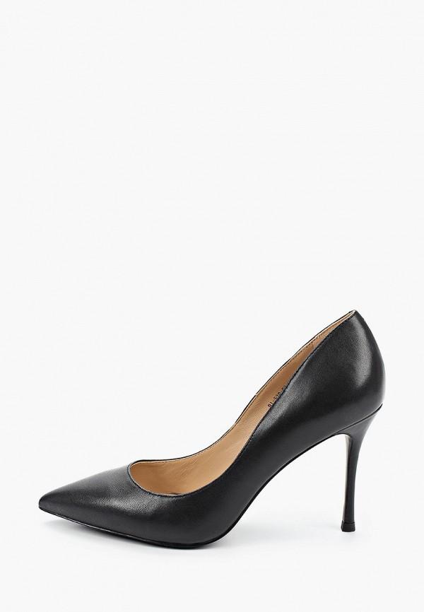 женские туфли-лодочки paolo conte, черные