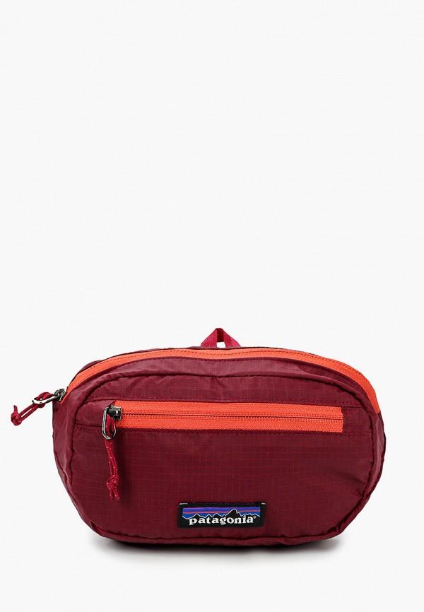 женская поясные сумка patagonia, красная