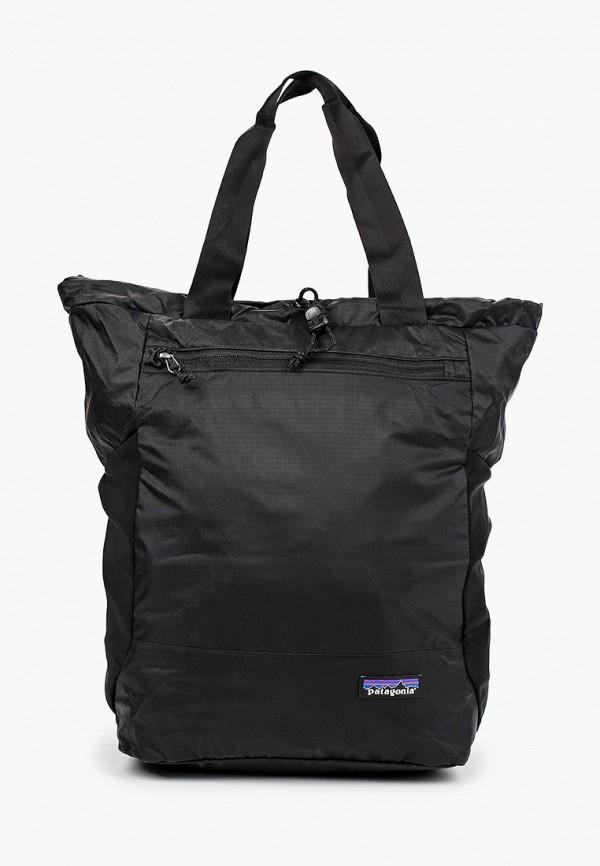 женский рюкзак patagonia, черный