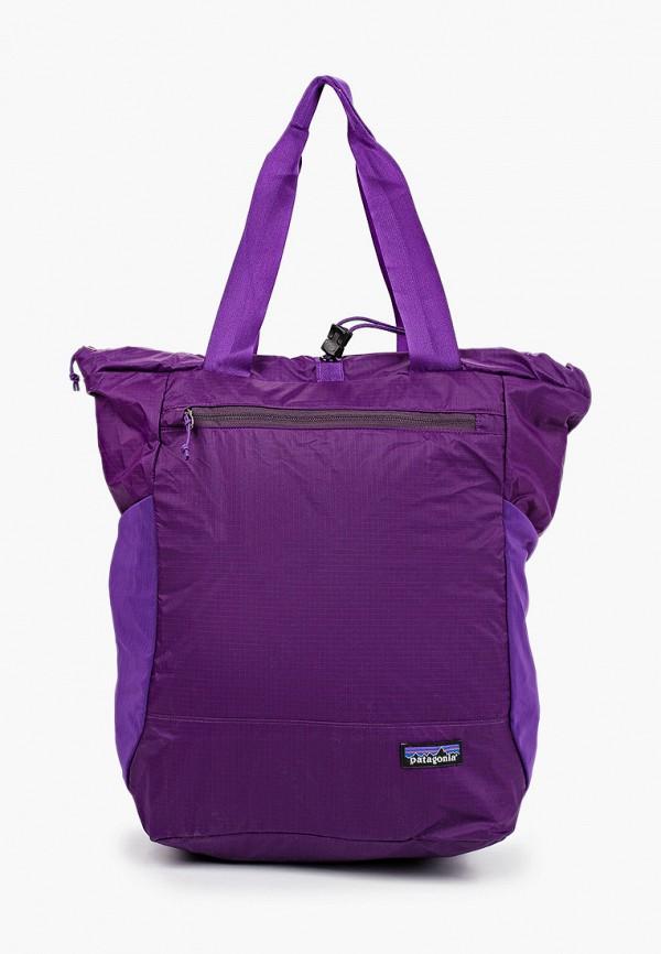женский рюкзак patagonia, фиолетовый