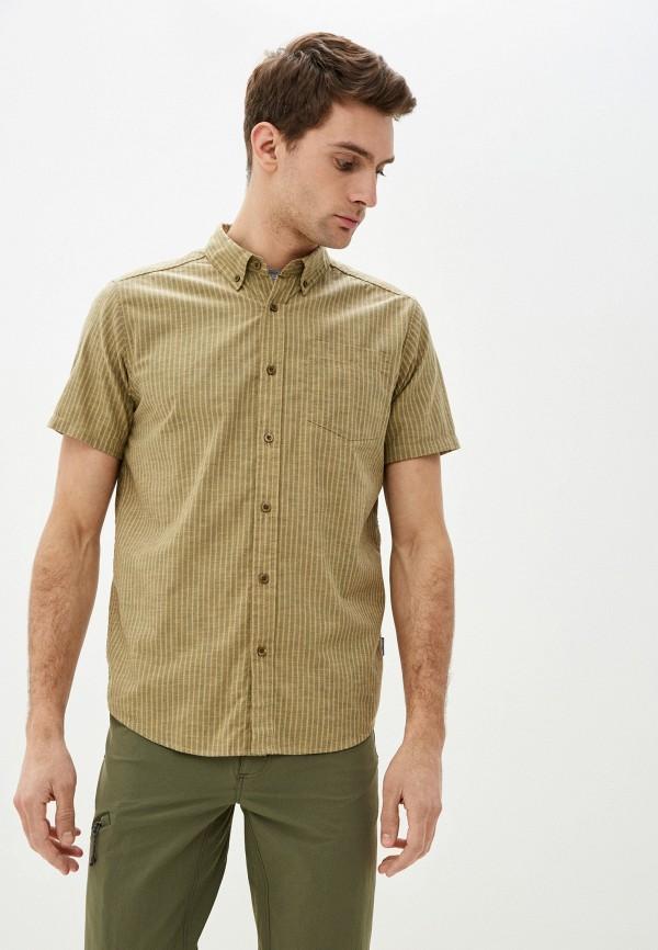 мужская рубашка patagonia, бежевая