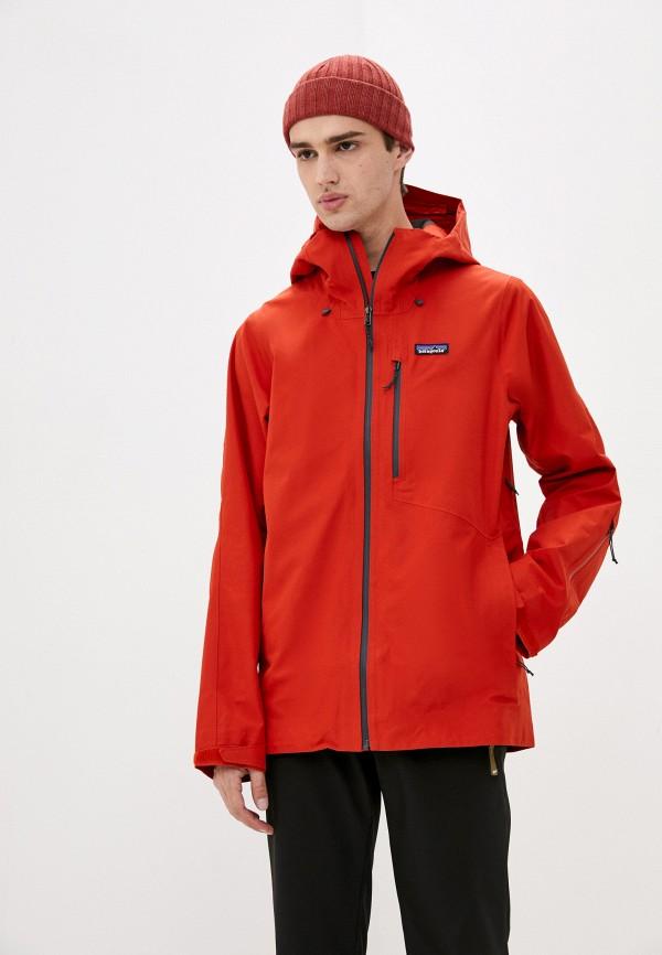 мужская куртка patagonia, красная