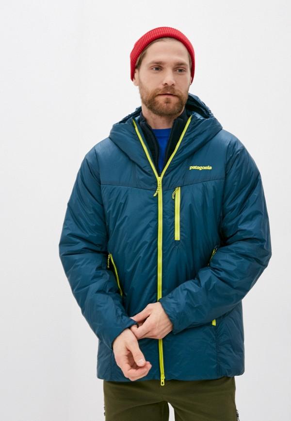 мужская куртка patagonia, синяя
