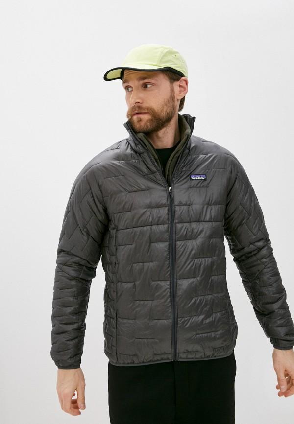 мужская куртка patagonia, серая
