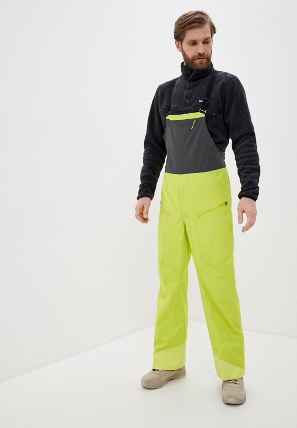 мужские брюки patagonia, зеленые