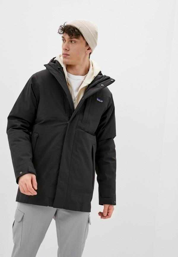мужская куртка patagonia, черная