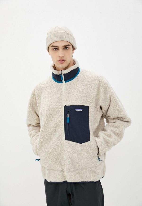 мужская куртка patagonia, бежевая