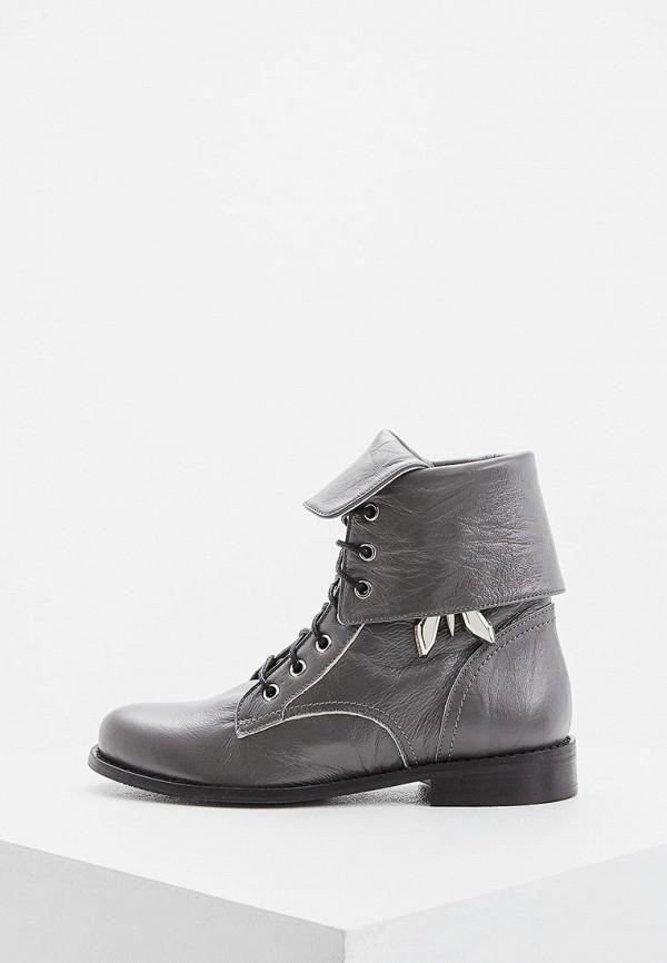женские ботинки patrizia pepe, серые