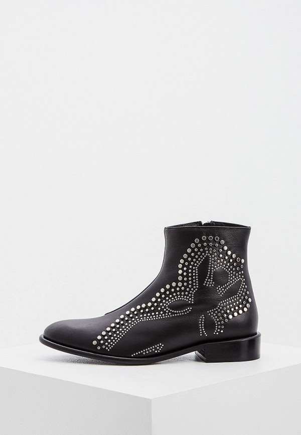 женские ботинки patrizia pepe, черные