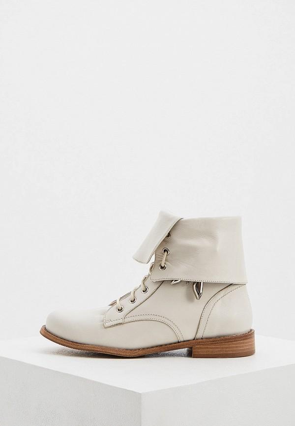 женские ботинки patrizia pepe, бежевые