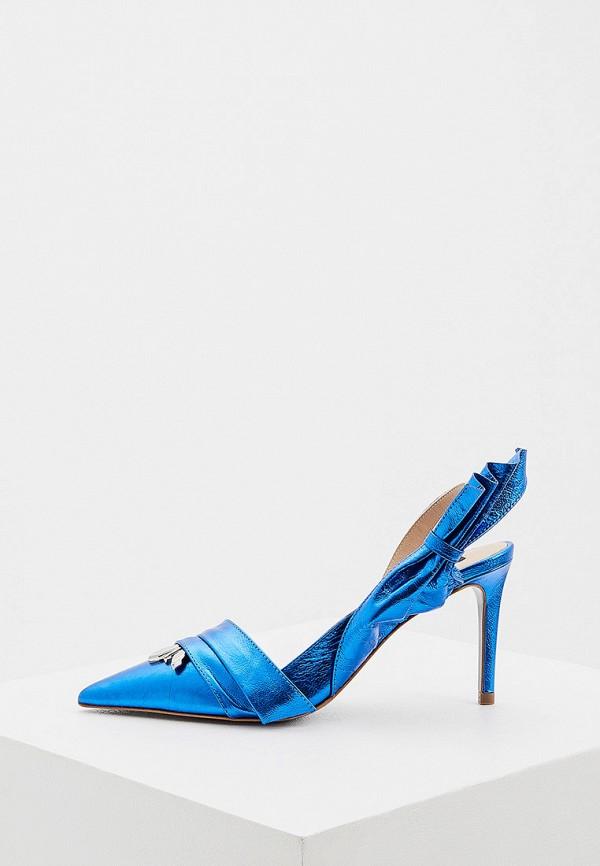 женские туфли patrizia pepe, синие
