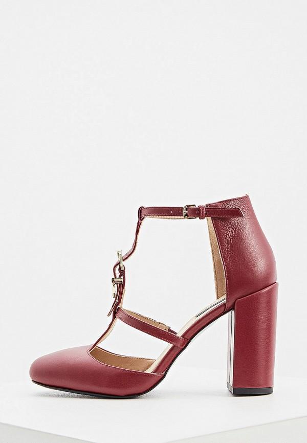 женские туфли patrizia pepe, бордовые