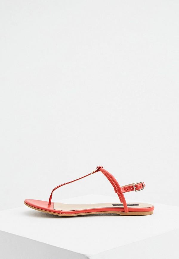 женские сандалии patrizia pepe, красные