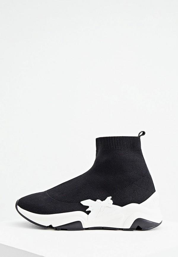 женские кроссовки patrizia pepe, черные