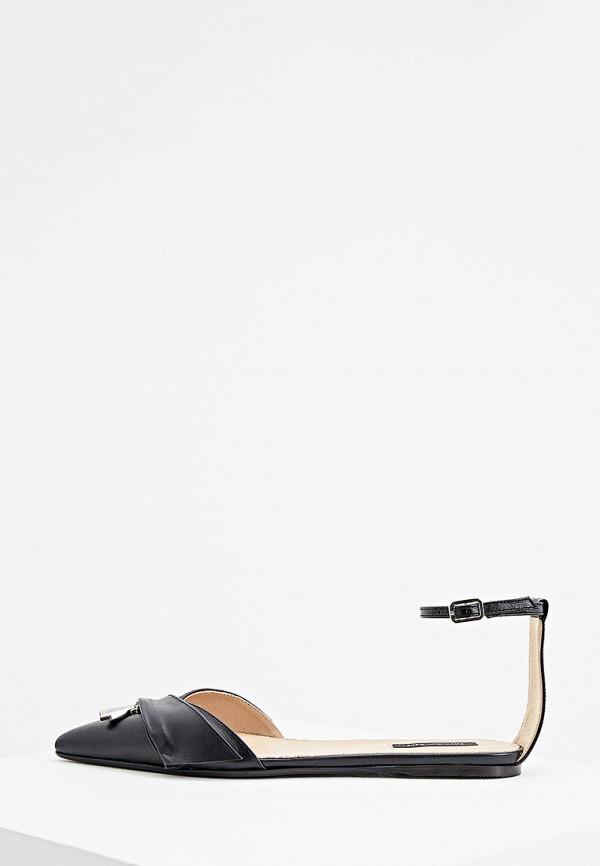 женские сандалии patrizia pepe, черные
