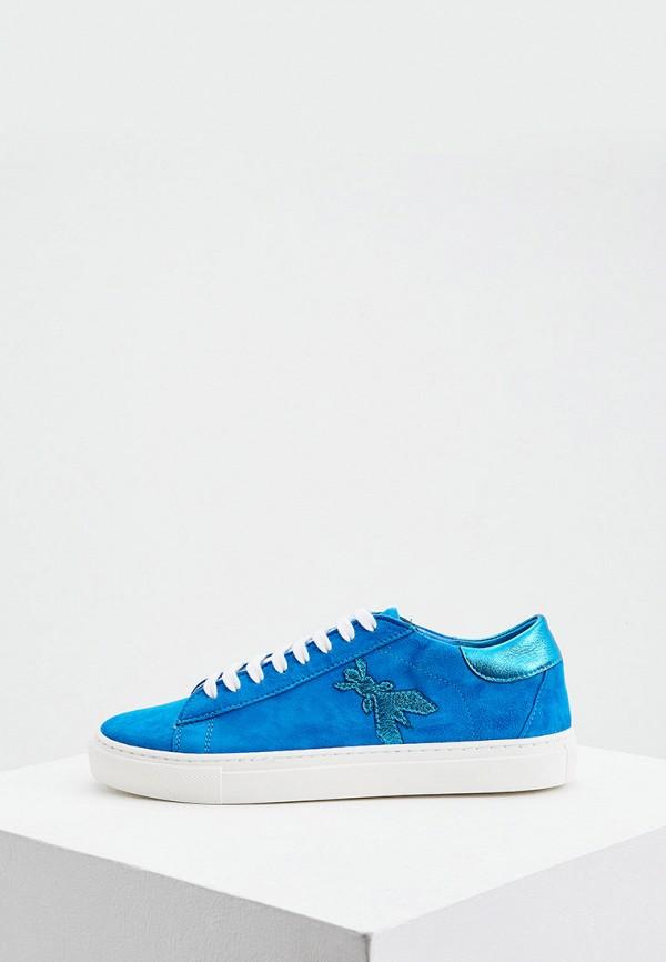 женские кеды patrizia pepe, голубые