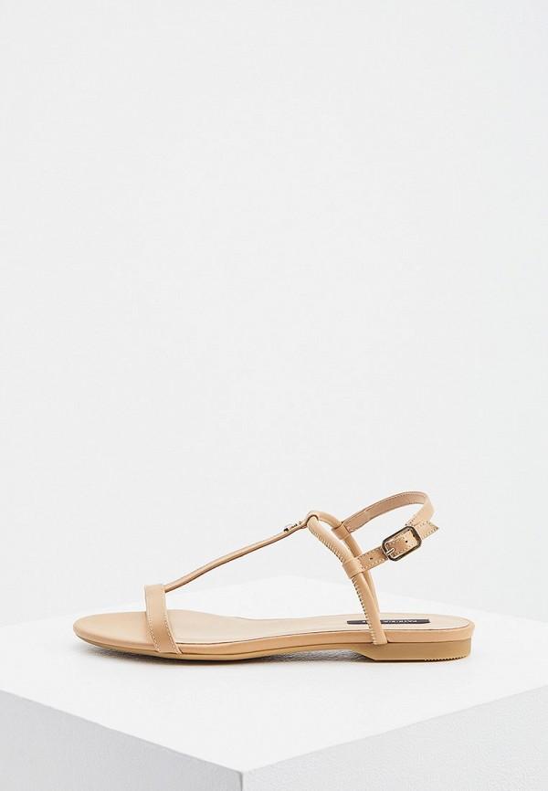 женские сандалии patrizia pepe, бежевые