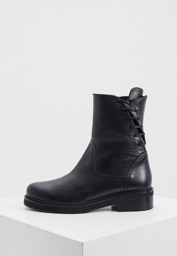 женские высокие ботинки patrizia pepe, черные