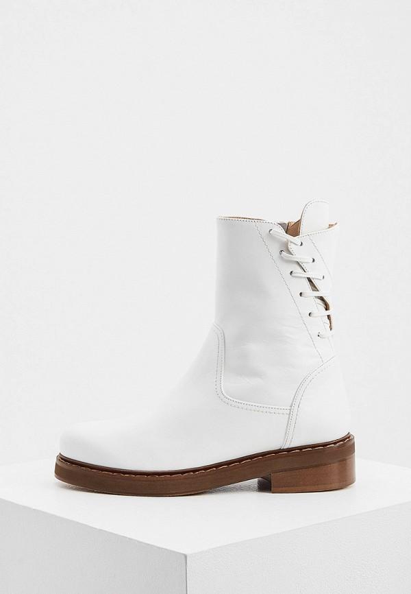 женские высокие ботинки patrizia pepe, белые