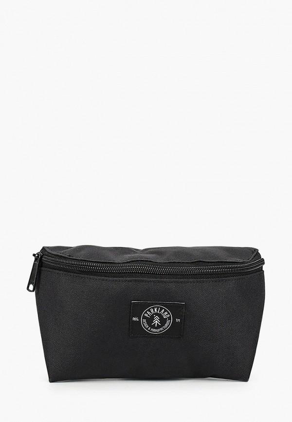 женская сумка parkland, черная