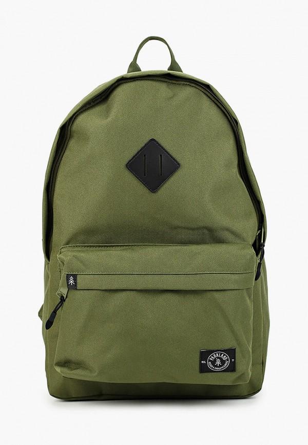 женский рюкзак parkland, зеленый