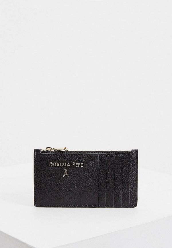 женский кошелёк patrizia pepe, черный