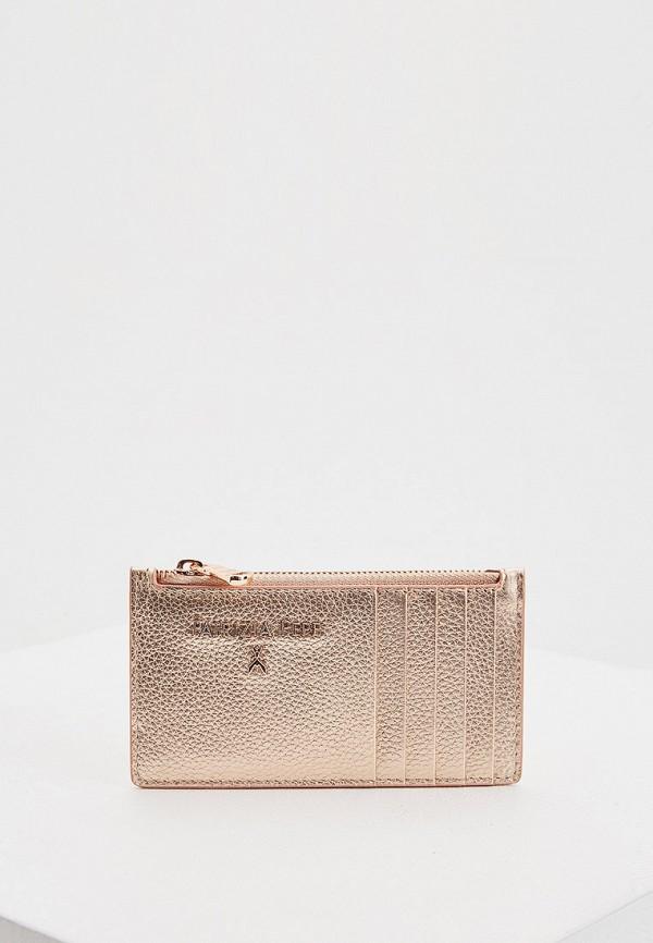 женский кошелёк patrizia pepe, розовый