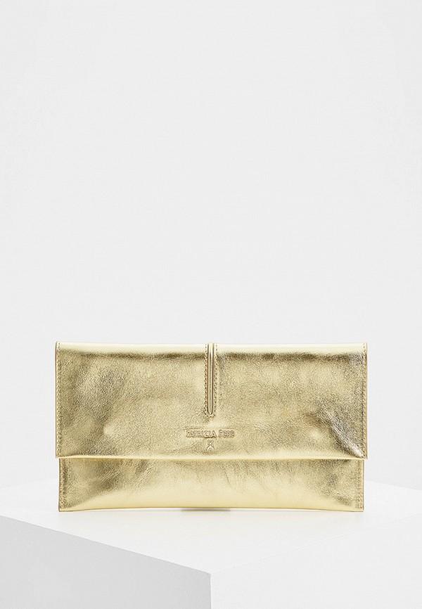 женский клатч patrizia pepe, золотой
