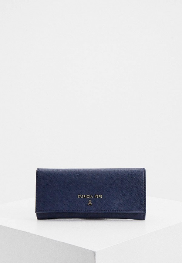 женский кошелёк patrizia pepe, синий