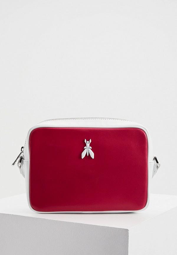 женская сумка patrizia pepe, розовая