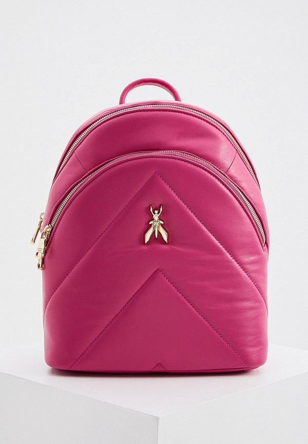женский рюкзак patrizia pepe, розовый