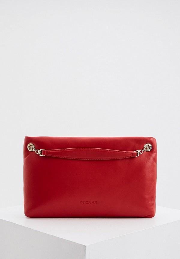 женская сумка patrizia pepe, красная