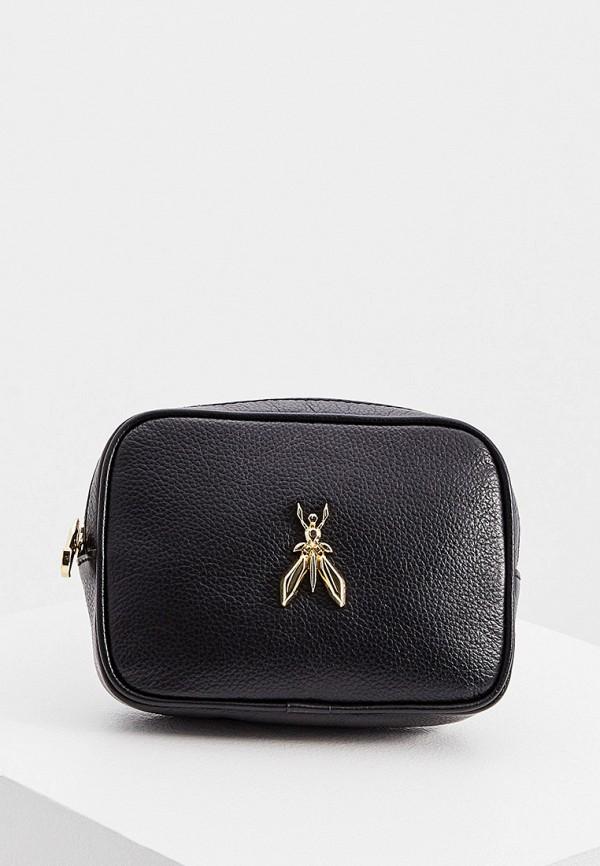 женская поясные сумка patrizia pepe, черная