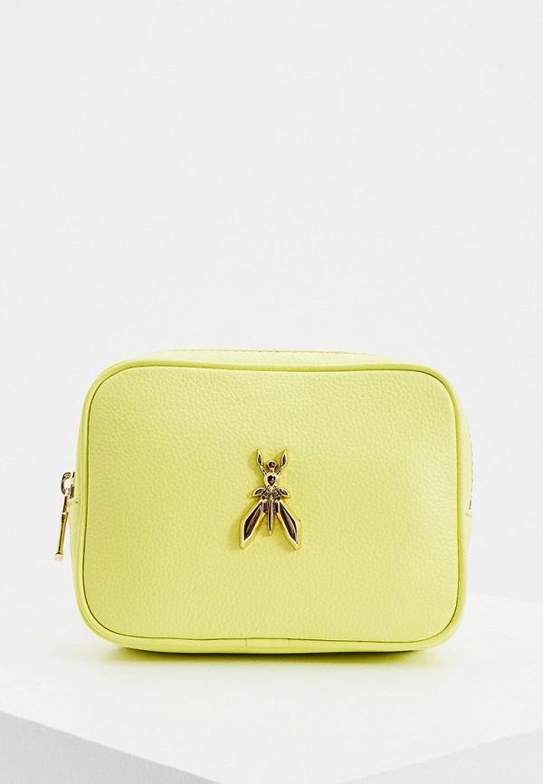 женская поясные сумка patrizia pepe, желтая