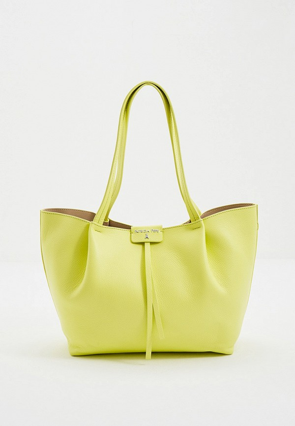 женская сумка patrizia pepe, желтая