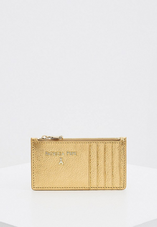 женский кошелёк patrizia pepe, золотой