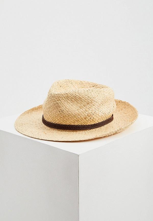 женская шляпа patrizia pepe, бежевая