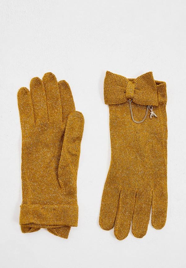 женские перчатки patrizia pepe, золотые