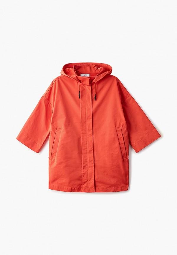 куртка patrizia pepe для девочки, красная
