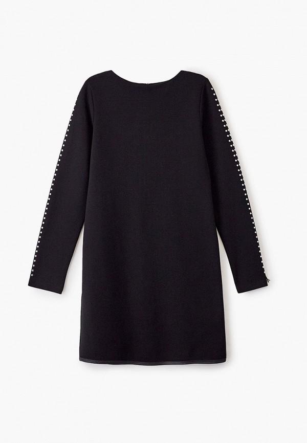 повседневные платье patrizia pepe для девочки, черное