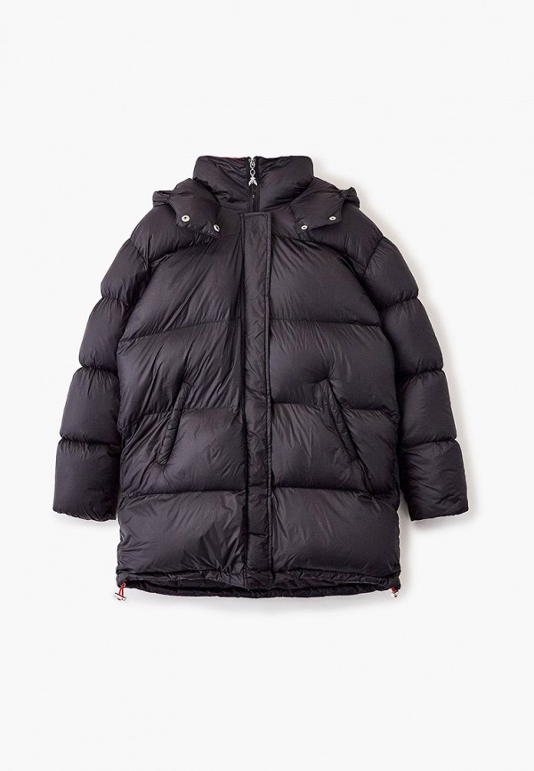 куртка patrizia pepe для девочки, черная